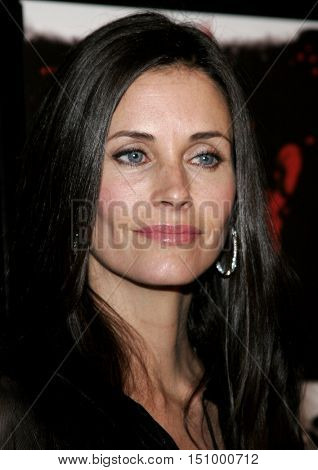 Courteney Cox at the Los Angeles premiere of 'The Tripper' held at the Mann's Chinese 6 in Hollywood, USA on October 13, 2006.