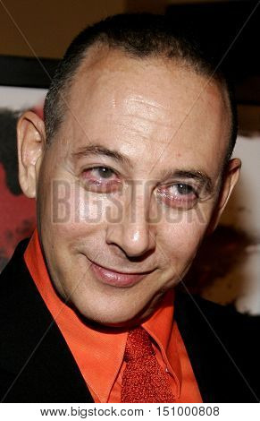 Paul Reubens at the Los Angeles premiere of 'The Tripper' held at the Mann's Chinese 6 in Hollywood, USA on October 13, 2006.