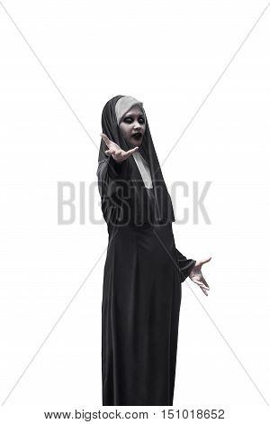 Evil Nun Expressions