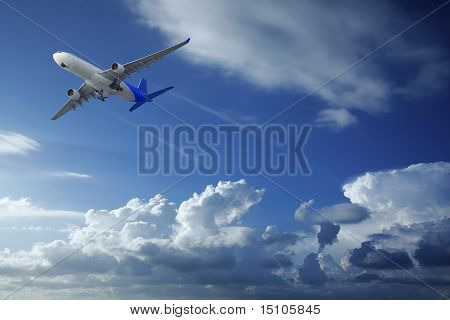 Düsenflugzeug