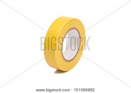 roll of duct tape white background .