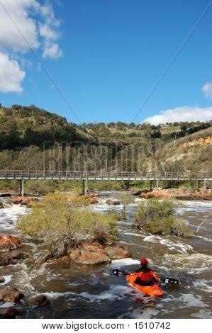 Kayak Bells Bridge