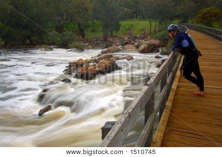 Kayaker Bells Rapids - You Can Do It