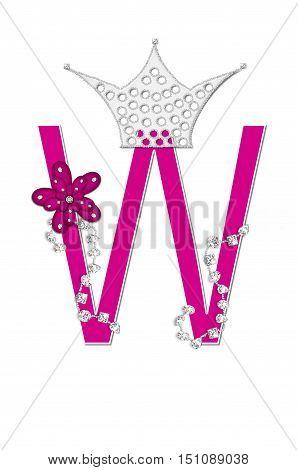 Alphabet Pageant Queen W