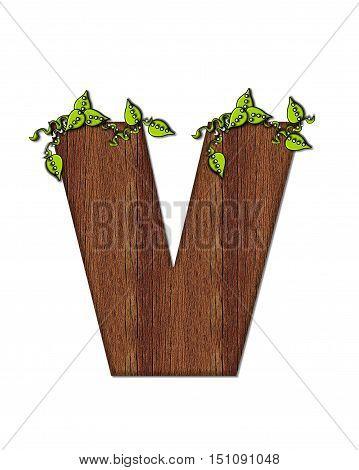 Alphabet Woodsy V