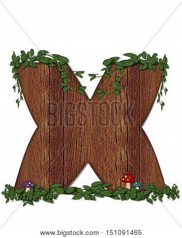 Alphabet Log X