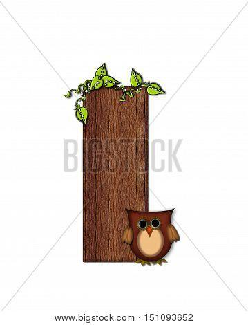 Alphabet Woodsy Owl I