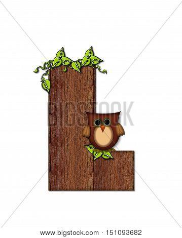 Alphabet Woodsy Owl L