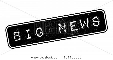 Big News Rubber Stamp