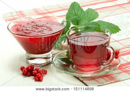 Jam And Drink From Schisandra Chinensis