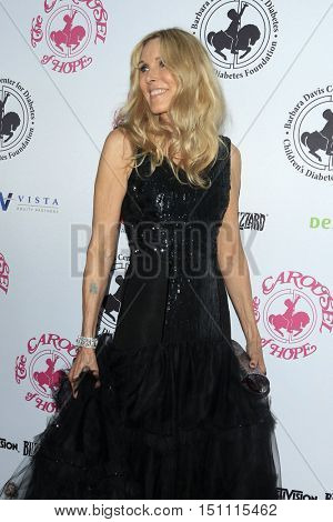 LOS ANGELES - OCT 8:  Alana Stewart at the 2016 Carousel Of Hope Ball at the Beverly Hilton Hotel on October 8, 2016 in Beverly Hills, CA