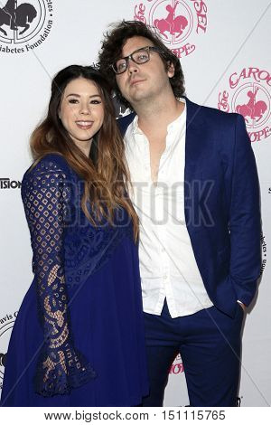 LOS ANGELES - OCT 8:  Jillian Rose Reed, Marty Shannon at the 2016 Carousel Of Hope Ball at the Beverly Hilton Hotel on October 8, 2016 in Beverly Hills, CA