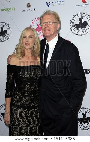 LOS ANGELES - OCT 8:  Rochelle Carson, Ed Begley Jr at the 2016 Carousel Of Hope Ball at the Beverly Hilton Hotel on October 8, 2016 in Beverly Hills, CA