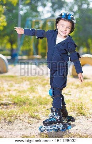 Cheerful Skater Boy
