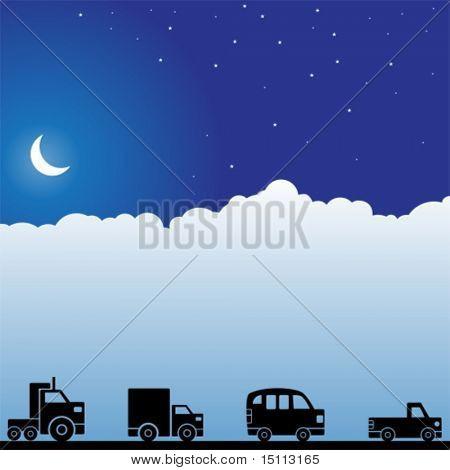 Luna de carro