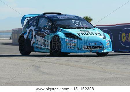 Blake Bilko Williams 22, Drives A Grc Lites Car, During The Red Bull Global Rallycross Championship