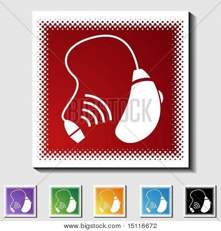 hearing aid icon tone