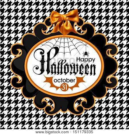 Halloween vector Illustration isolated on white background