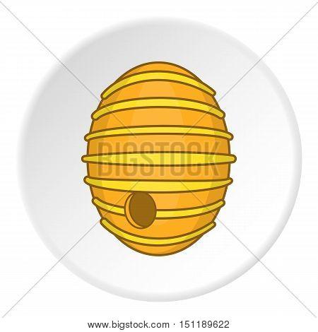 Beehive icon. artoon illustration of vector icon for web