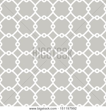 Seamless vector light ornament in arabian style. Pattern for wallpapers and backgrounds