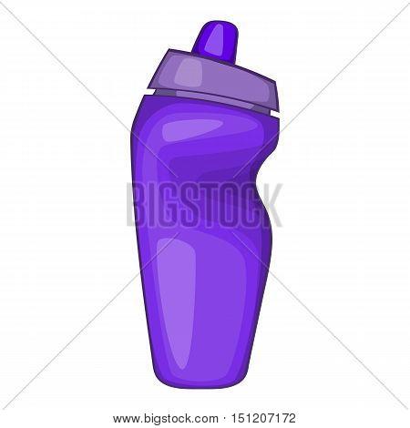 Sport bottle icon. Cartoon illustration of sport bottle vector icon for web