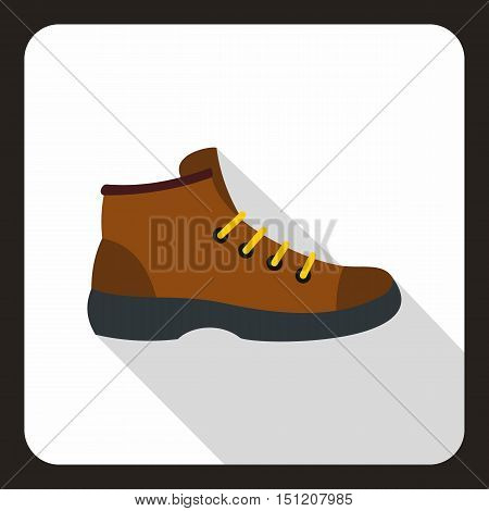 Boot icon. Flat illustration of boot vector icon for web