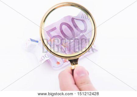 Checking Fake Bill