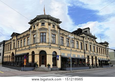 Pub Petrellin Saluuna in Oulu city Finland