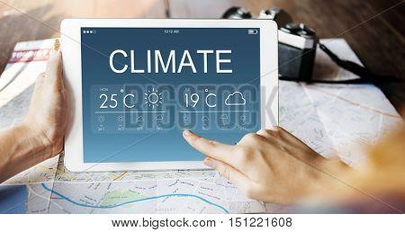 Climate Weather Forecast Temperature Concept