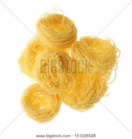 Pasta, isolated on white