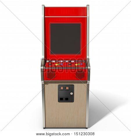 Vintage Arcade Machine