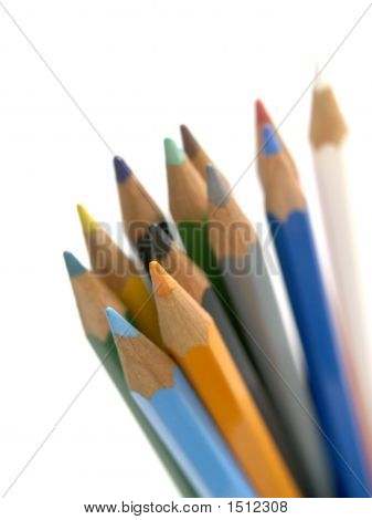 12 Colored Pencils