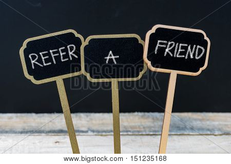 Business Message Refer A Friend
