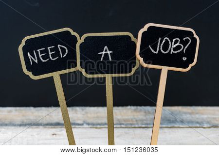 Business Message Need A Job ?