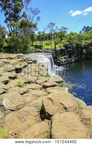 Gorgeous View Of Kerikeri Waterfall, New Zealand
