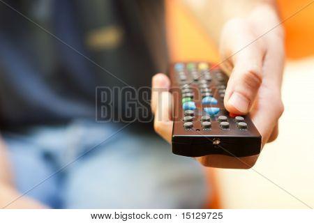 Remote control tv