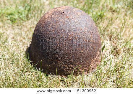 Rusty Soldier's Helmet