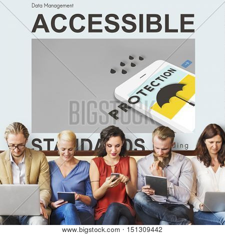 Accessible Authorisation Concept