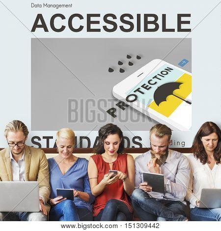 Accessible Authorisation Concept