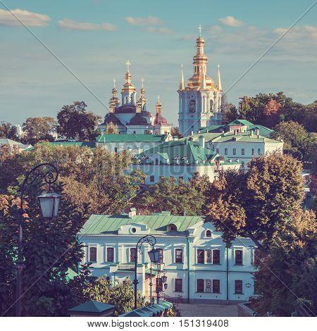 Kiev Pechersk Lavra. Orthodox Monastery. Kiev Ukraine.