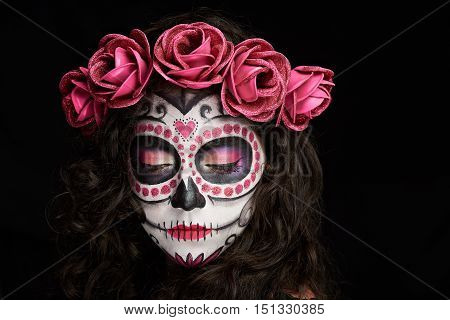 Look Down Skull Face
