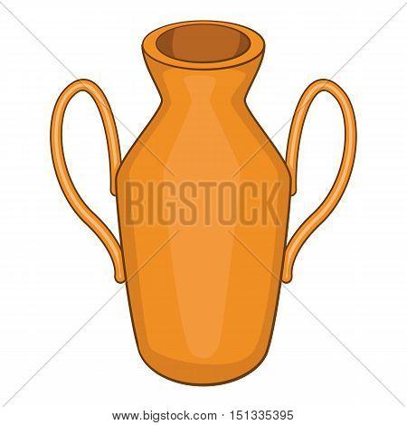 Ancient vase icon. Cartoon illustration of ancient vase vector icon for web