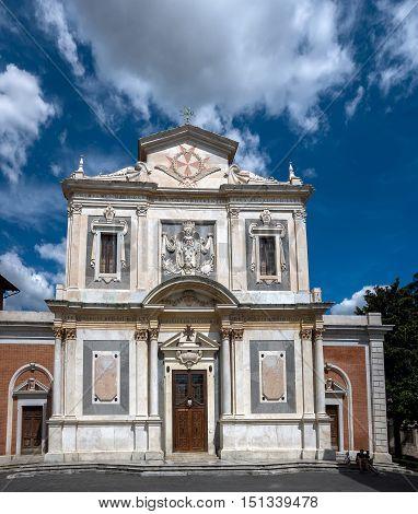 Chiesa Di Santo Stefano Dei Cavalieri In Pisa, Italy