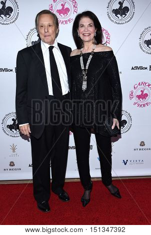 LOS ANGELES - OCT 8:  William Friedkin and Sherry Lansing arrives to the Carousel of Hope 2016 on October 8, 2016 in Hollywood, CA