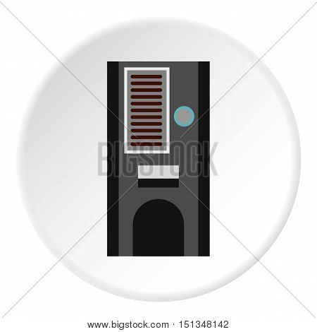 Kitchen cupboard icon. Flat illustration of kitchen cupboard vector icon for web