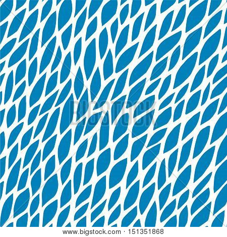 Vector seamless pattern for background. Repeating vector abstract background. Abstract blue floral pattern. Seamless blue abstract square pattern. Vector repeating seamless blue texture. Pattern