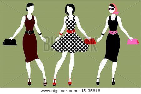 Fashion 80's Of Last Century