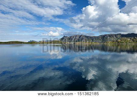 landscape of Mageroya Island near Gjesvaer Finnmark Norway