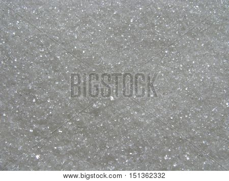 Granulated sugar. Sugar sand as background. Sugar background. Natural background.
