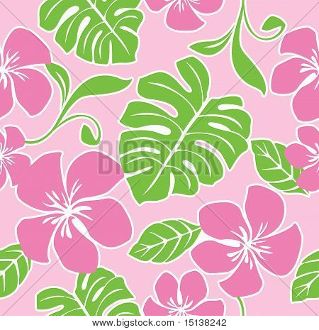 Seamless Hawaii Summer Pattern